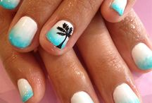 Mani/pedi ideas / by Kimberly Strand