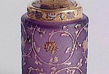 Perfume, Glass, Bottles & Vases