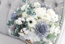 Grey bouquet