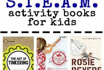 STEAM and STEM activities / Science, technology, engineering, art, mathematics  / by Karen
