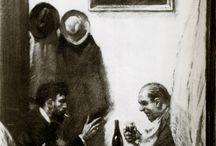 In a Restaurant - Edward Hopper