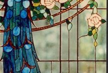 Stained glass and Art Nouveau