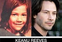 celebrities, then & now / by Kathy Ferguson