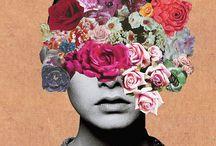 ilustración,fotos & collage  / by da!