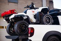 Custom Honda Rubicon 500 ATV / Nitrous Kit & RidgeLine Truck | FourTrax TRX500 4x4 / SEMA 2016 / Custom 2017 Honda FourTrax Rubicon 500 ATV & RidgeLine Truck Review at www.HondaProKevin.com