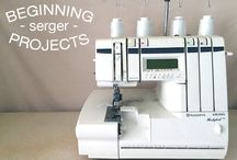 beginners serger projects