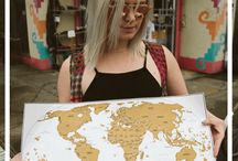 Travel maps, printables and resources / travel maps, planners and printables