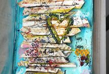 Art Journals and Mixed Media Love / by Jasmine Low