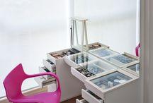 makeup desk