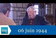 Le débarquement raconté par les survivants - Archives INA / 6 juin 1984 Chroniques et anecdotes sur le débarquement du 6 juin 1944 recueillies par Gilles PERRAULT à Sainte Marie du Mont avec Mlle Thérèse ONFROY, Mme Camille AUVRAY, Charles BONZON, Michel de VALLAVIEILLE. Images d'archive INA