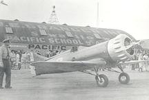 Vintage racing planes