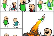 Cyanide and happiness / Funny