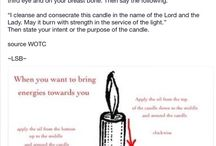 Dressing a candel