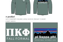 ZTA DK Merchandise Ideas! / Chapter members can post t shirt or other relevant merch to this to give the merch team ideas on designs and products! / by ZTA Merch Delta Kappa