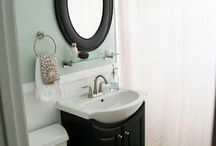 Small Bathroom Inspiration / Gathering inspiration for a future remodel