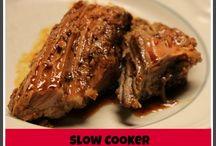 Pork slow cooker/freezer meals