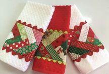 Toalhas com patchwork
