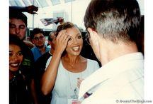 Stars Among the Atlanta 1996 Olympic Village