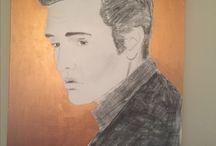 Tegning og maling av meg