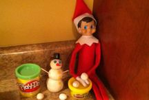 elf on shelf / by Colleen Condon Touranjoe