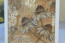 Tim Holtz Stamps / A collection of projects created with Time Holtz Stamps and other products from Ranger