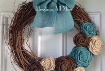 Wreath  / crown / kranssit / seppeleet
