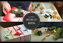 videa balení dárků