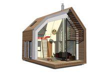Микродома / Энергоэффективные маленькие дома