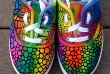 malovane topanky