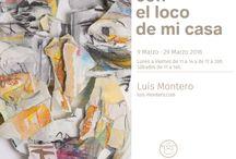 Diálogos con el loco de mi casa / Exposición en La Ferretería · Lugo