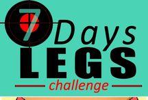 Exerciții pentru picioare