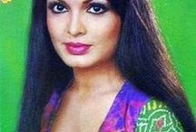 Style icon: Parveen Babi / Popular Indian film actress Parveen Babi, who dazzled Bollywood fans with her trend-setting glamour.