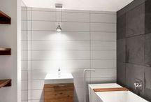 + Home // All White / Bathroom