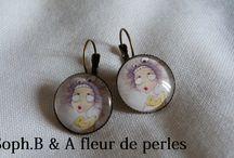 Collection Soph.B & A fleur de perles  / Soph.B & A fleur de perles se sont alliées pour vous proposez de magnifiques bijoux!