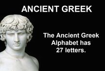 Ancient Greek / Have you been wanting to learn Ancient Greek?  Well this is here to get you started.  Please remember that there are different types of Ancient Greek, and some of the information may differ.
