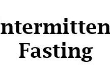 Fasting articles