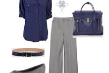 Outfits - Grey Pants