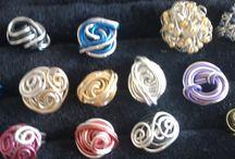 ringen / ringen van wire draad