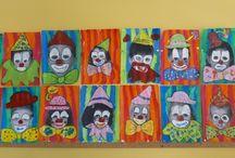 Déco/École - thème : clown