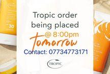 Order through me - Tropic Skin Care Lisa Mace