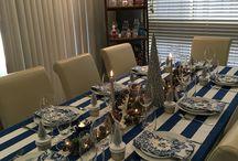 Christmas table themes