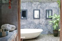 Bali houses and interior