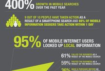 mobile data and info / by Dinis Guarda