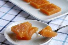 Ricette: Frutta fresca,caramellata& secca / Recipes: Fruit