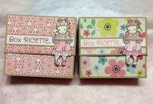 Box Ricette / Ecco le foto dei box ricette che ho creato
