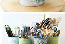 Idées déco / Pots à crayons