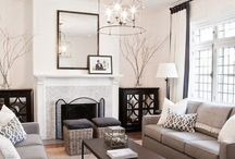 Clean White Living Rooms