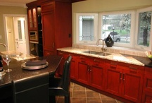 Kitchen reno ideas / some of the reno ideas I might use for inspiration... / by Tracy Krauss