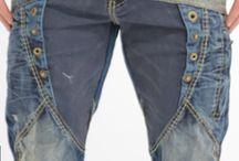 Męskie dżinsy
