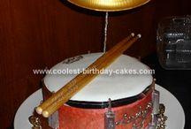 Neamh drum cake ideas
